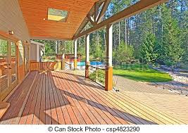 Back Porch  Csp4823290  Can Stock Photo