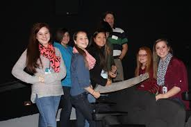 Carolina Springs Middle Drama Students Attend Reading Movies The