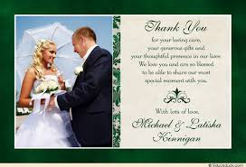 Wedding Thank You Notes Great Thank You Notes For Wedding Classic Photo Wedding Thank You