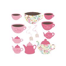 pink tea bag clip art. Interesting Clip Rose Tea Set With Clipart For Pink Bag Clip Art B