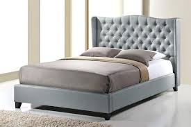 grey upholstered bed king. Wingback Bed King Ideas Grey Upholstered F