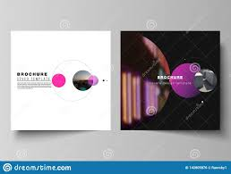 simple covers vector layout of two square format covers design templates