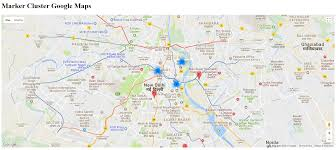 marker cluster google maps api v