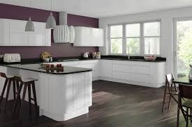 White Gloss Kitchen High Gloss Kitchen Cabinets Grey Kitchen Cabinets For A