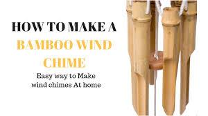maxresdefault 12 bamboo wind chimes diy