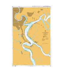 British Admiralty Nautical Chart 1036 Ho Chi Minh City And Approaches
