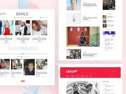 Magazine Content Page Layout Design 45 Best Magazine Wordpress Themes 2020 Athemes