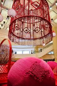 australian fiber artist natalie miller made the world s biggest macrame chandeliers with 10km 6 miles