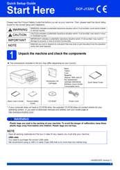 Please read the product safety guide first before you set up your machine. Brother Dcp J152w Manuals Manualslib