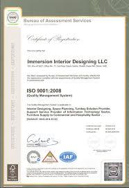 certificate of interior design. Fine Certificate ISO 90012008 Inside Certificate Of Interior Design