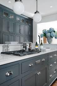 blue grey kitchen cabinets.  Grey Kitchen Estce Un Bleu Gris Ou Gris Bleut  Entre Les Deux Mon Cur  Vacille Mais Je Le Vois Plutt  Dominante Bleue With Blue Grey Kitchen Cabinets Pinterest