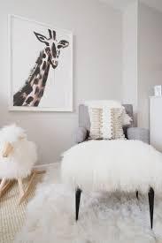 sheepskin rug nursery giraffe