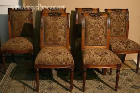 reupholstered dining room chairs reupholstering dining chair backs how to reupholster a chair with best pictures