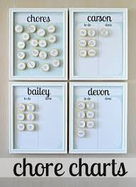 Make A Chore List Chore Charts Diy