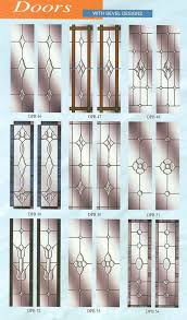 doors with glass bevel designs