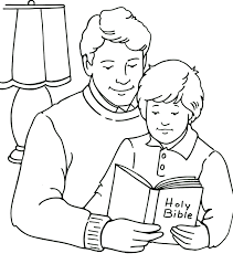 Small Picture Fathers Day Coloring Page