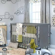 vintage car baby nursery looking cribs flawless boy grey truck route crib theme quilt classic