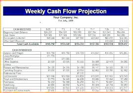 Cash Flow Model Excel Project Cash Flow Template