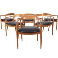 danish modern dining chairs by niels eilersen