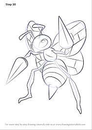 Small Picture Learn How to Draw Beedrill from Pokemon Pokemon Step by Step