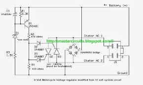wiring diagram 3 phase motorcycle rectifier regulator circuit 4 wire regulator rectifier wiring diagram at 4 Pin Voltage Regulator Wiring Diagram