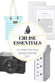 Cruise Packing List Cruise Packing List The Little Kitchen