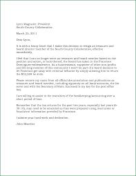 Best Solutions Of Sample Board Member Resignation Letter For