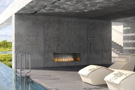 linear gas and electric fireplaces