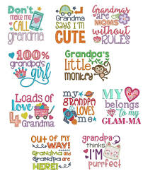 Free Machine Embroidery Sayings Designs Grandparent Sayings Machine Embroidery Machine Embroidery
