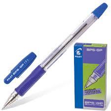 <b>Ручка</b> шариковая масляная <b>Pilot</b>, синяя | Буквоед Арт. BPS-GP-F-L