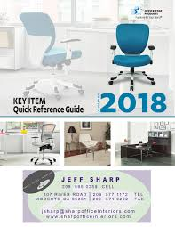 office chair guide. Keywords: Sharp Office Interiors 2018 Furniture Guide Chair