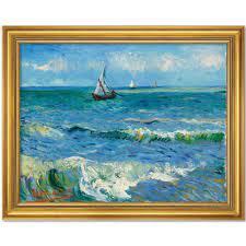"""Vincent van Gogh: Bild """"Das Meer bei Les Saintes-Maries-de-la-Mer"""" (Go – SZ  Shop"""