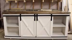 diy barn door hardware under 50 no welding woodbrew plans