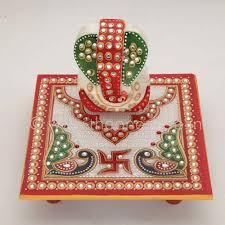 indian wedding return gifts chowki ganesh with design the one return giftore