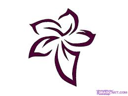 Small Picture How to Draw a Tribal Flower Tattoo Step by Step Tattoos Pop