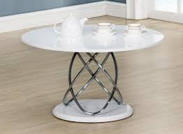trias modern coffee table round in
