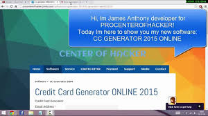 cvv generator for