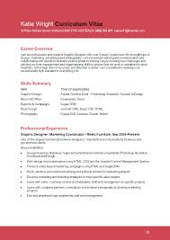 Resume Templates For Graphic Designers 7 Examples Design Template
