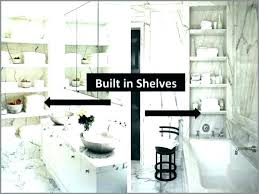 lt in bathroom shelves shower storage best of recessed built wall into ideas