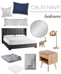Navy Bedroom The End Of The Bedding Struggle The Vintage Rug Shop The Vintage