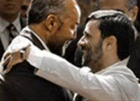 Image result for george galloway ahmadinejad