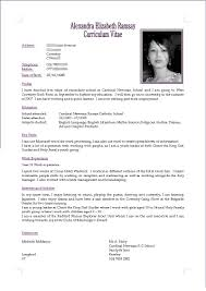 What Is A Cv Resume What Is A Cv Resume Resume Templates 3