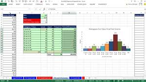 Excel 2013 Statistical Analysis 8 Frequency Distributions Histograms Skew Quantitative Variable