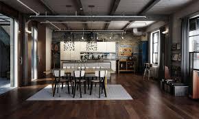 Loft Kitchen Loft Interior Design Style