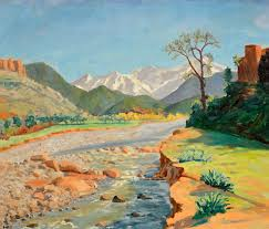 winston churchill s paintings google search art landscapes  winston churchill s paintings google search