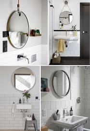 frameless mirrors for bathrooms. Easy Bathroom Decor Refresh: A Round Mirror - Anne Sage Frameless Mirrors For Bathrooms