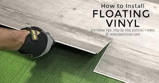 interlocking waterproof vinyl tile with built floating installation n