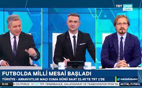 """Alp Pehlivan on Twitter: """"TRT SPOR Kanalı """"AKTÜEL FUTBOL"""" programında  @erdoganarikann ve AyhanAkman ile yayınımız başladı...… """""""