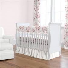 rose farmhouse crib bedding carousel