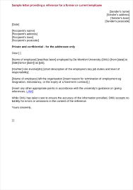 Minister Recommendation Letter Sample For Job Pdf Of